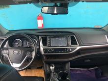 Interior View Toyota Highlander 2014 Betacar