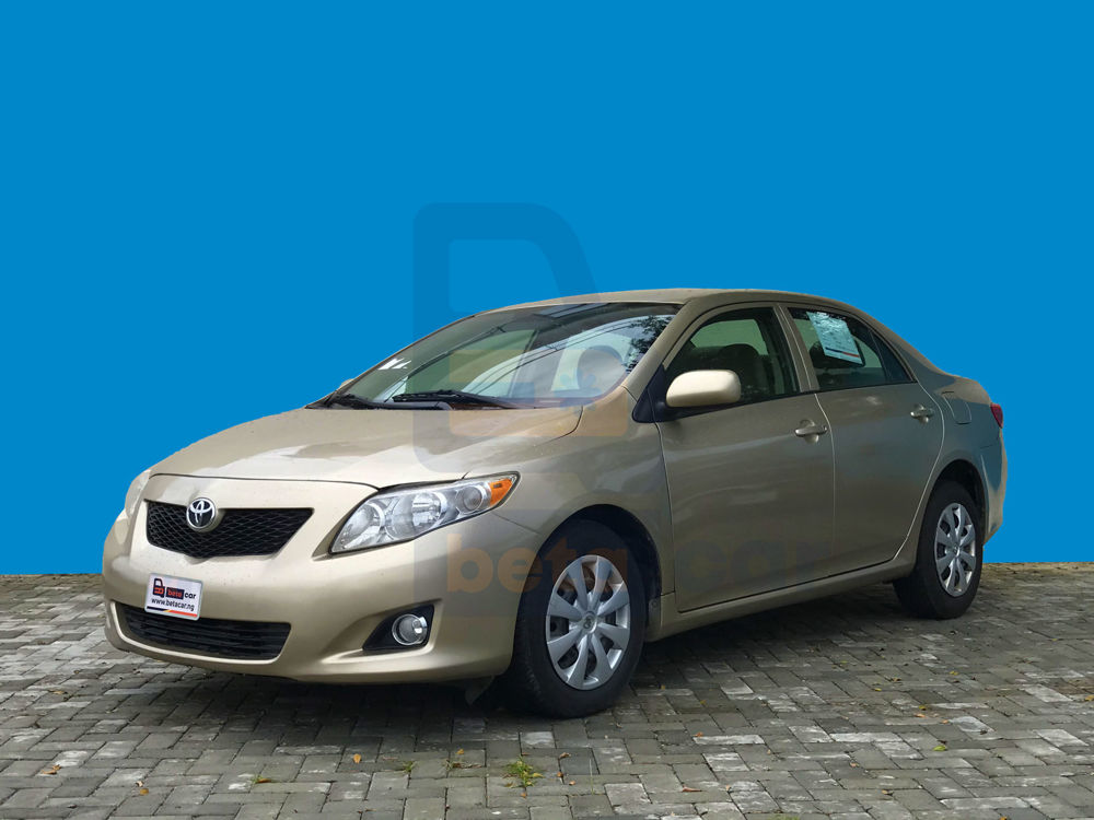 Toyota Corolla Gold 2010 Betacar -0001810 2010 toyota corolla mileage166157 1000-Top 5 Cars for First-Time Buyers
